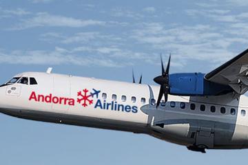 El rimer vuelo de Andorra Airlines, a la espera