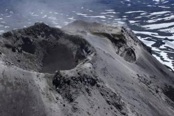 Panorámica de los cráteres de Nevados de Chillán