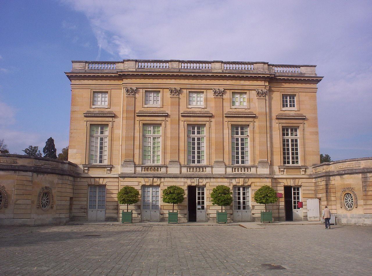 Petit Trianon, residencia de madame de Pompadour, promotora del Rococó