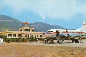 Convair CV-440 Metropolitan de Iberia (EC-ART), en Sidi-Ifni
