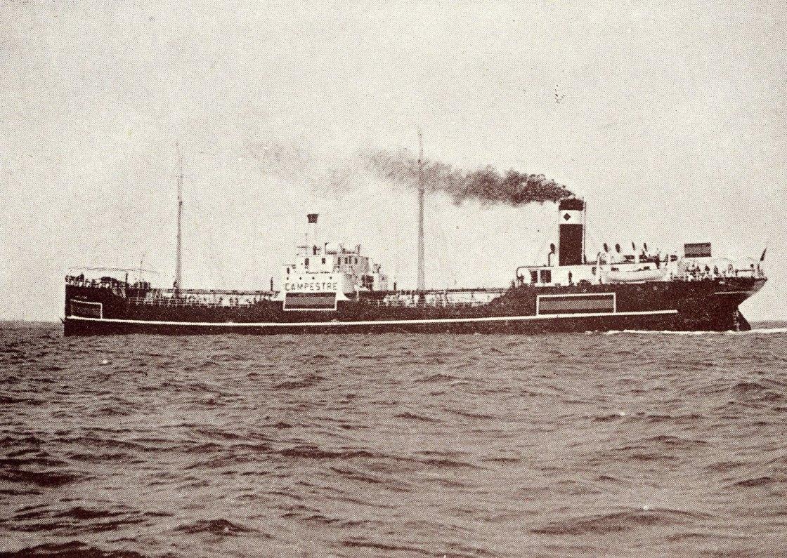 """El petrolero """"Campestre"""", en pruebas de mar tras su reconstrucción"""