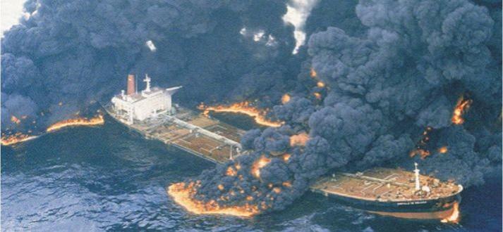 """El petrolero """"Castillo de Bellver"""", perdido en aguas de África del Sur"""