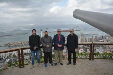 De izq a dcha:  Juan Gabriel Mata, Daniel Ferro, Juan Carlos Díaz Lorenzo y Juan Manuel Pérez Rodríguez