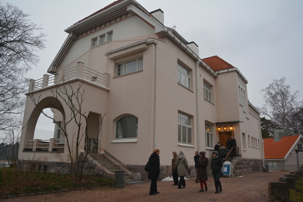 El edificio fue cedido en 1940 al Estado finlandés