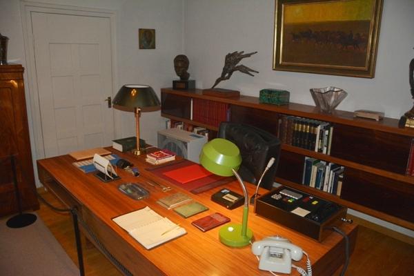 espacho del presidente Kekkonen en su residencia oficial