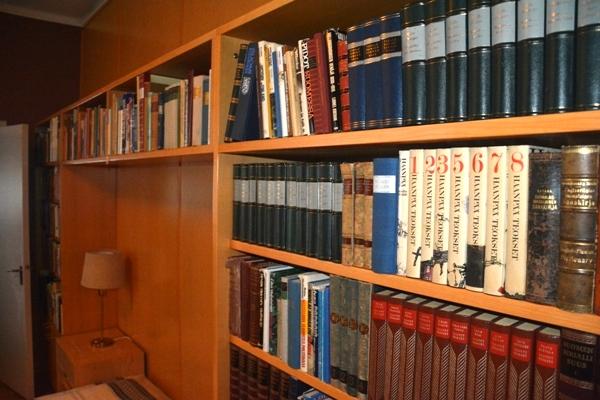 Vista parcial de la biblioteca de Tamminiemi