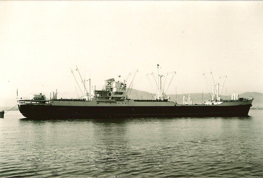 """Estampa marinera del buque """"Luchana"""" (1964-1986)"""