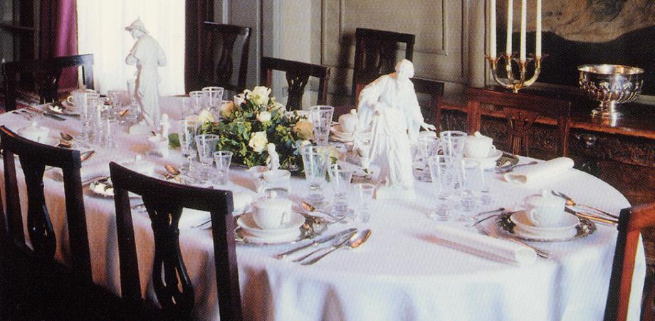 Comedor principal del Museo Mannerheim