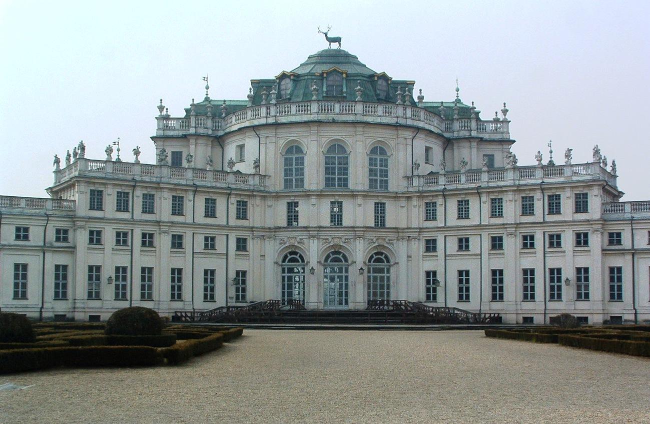 Palacio de Stupinigi, proyecto de Juvarra