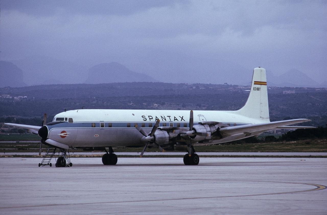En su etapa con Spantax voló al norte de Europa, África y Oriente Medio