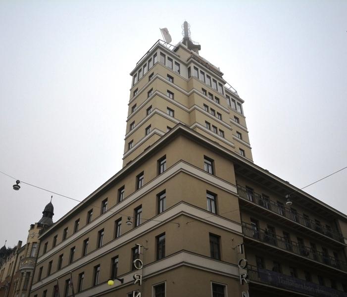 Hasta 1987, el hotel Torni fue el edificio más alto de Helsinki