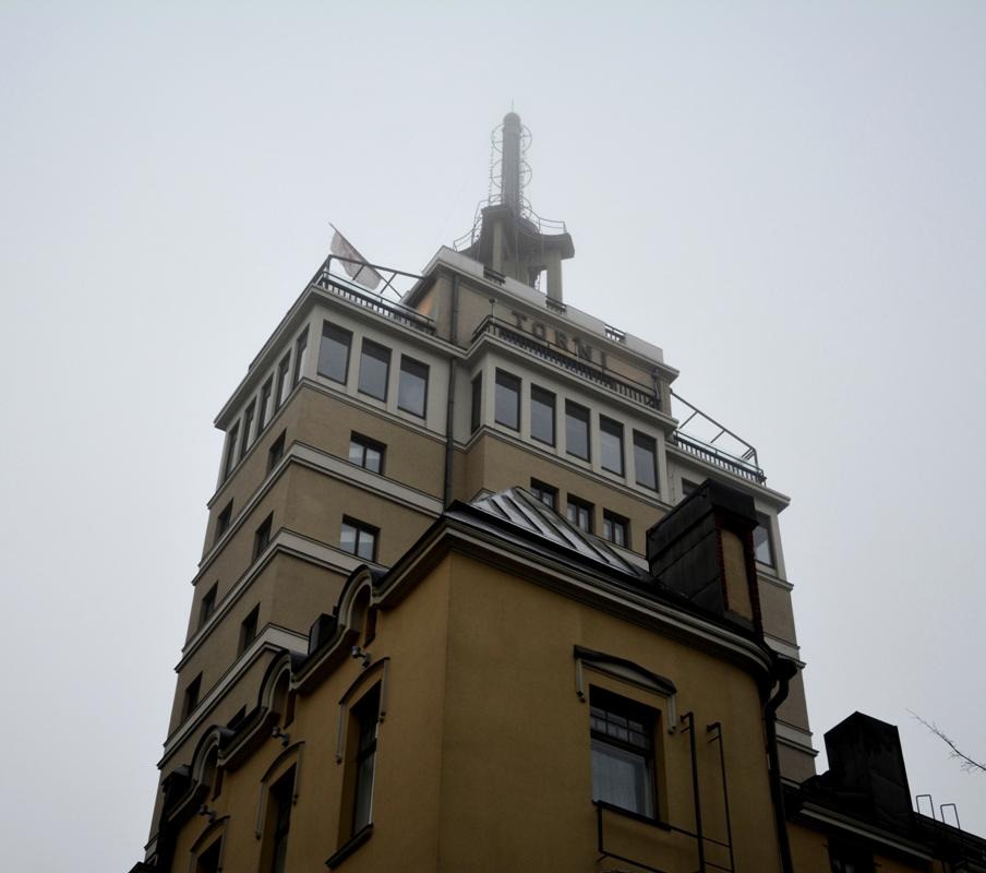 Es un edificio emblemático en la historia contemporánea de Finlandia
