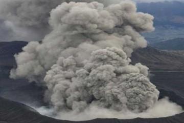 El  volcán Monte Aso entra en erupción tras los movimientos sísmicos