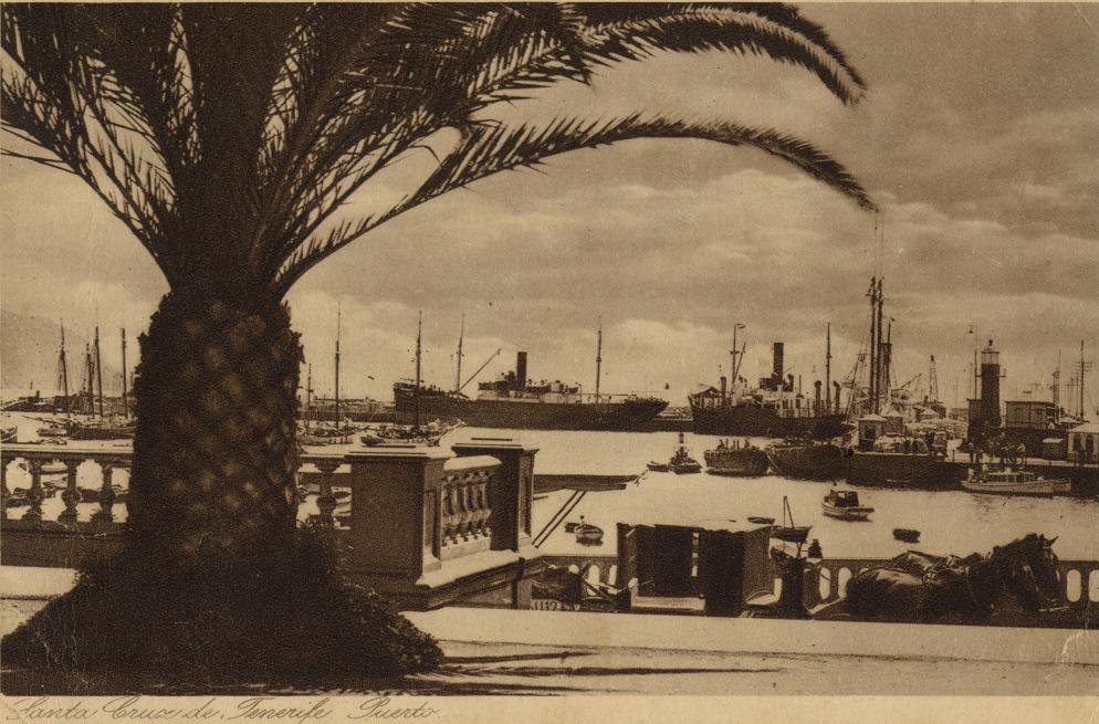 El puerto de Santa Cruz de Tenerife, escala en el Atlántico