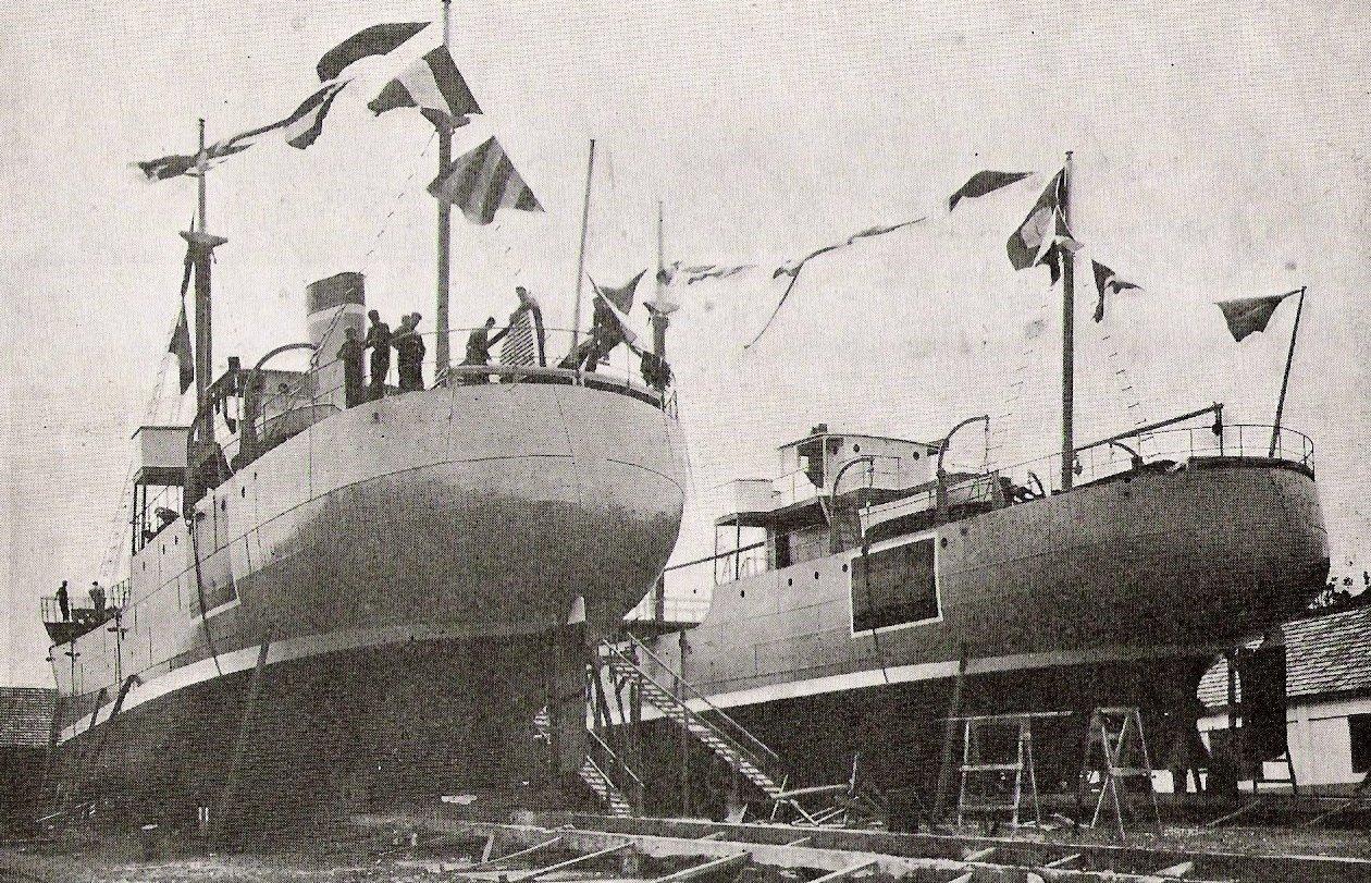 """Los buques """"Rosita Iglesias Nº 2"""" y """"Marujín"""", preparados para su botadura"""