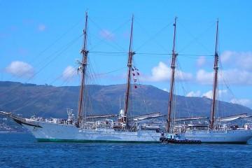 """El buque-escuela """"Juan Sebastián de Elcano"""" volverá en diciembre próximo a La Palma"""