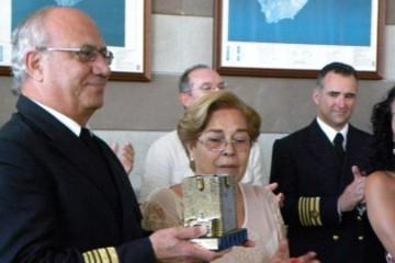 Servando Peraza García (1947-2015), comodoro de la Flota de Fred. Olsen