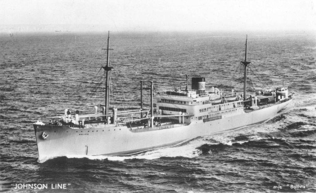 En origen perteneció a la naviera sueca Johnson Line