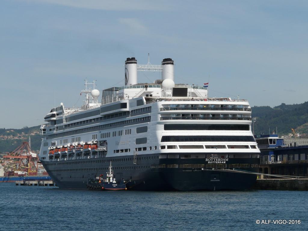 Holland America Line tiene al puerto de Vigo entre sus preferidos