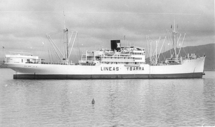 El buque estuvo siete años al servicio de Ybarra & Cía.