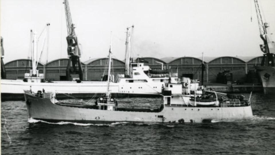 """El buque """"Condesito"""" enarbola la contraseña de los hermanos Condeminas"""