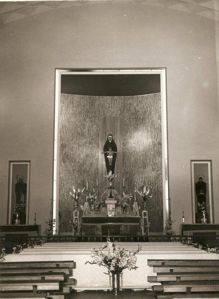 Altar mayor de la capilla del Quisisana