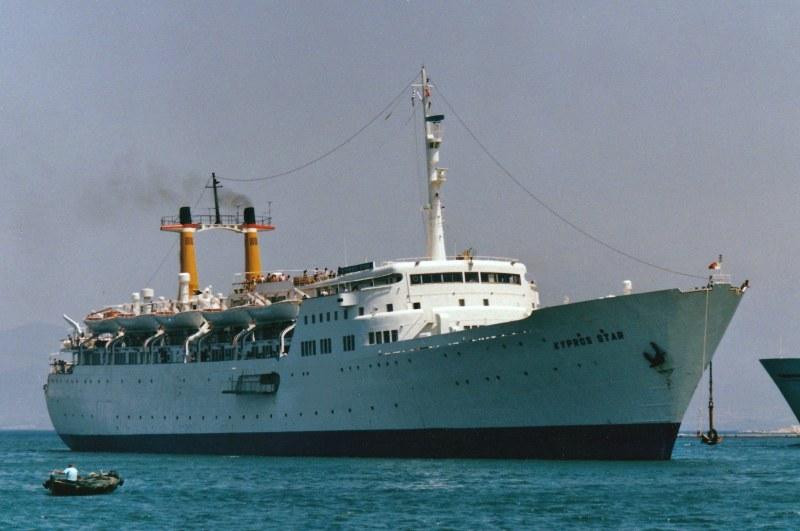 """En su etapa griega rebautizado con el nombre de """"Kypros Star"""""""
