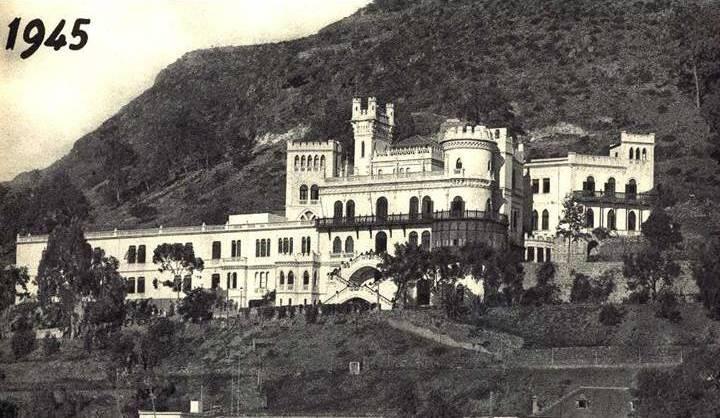 Panorámica del Colegio del Quisisana en 1945
