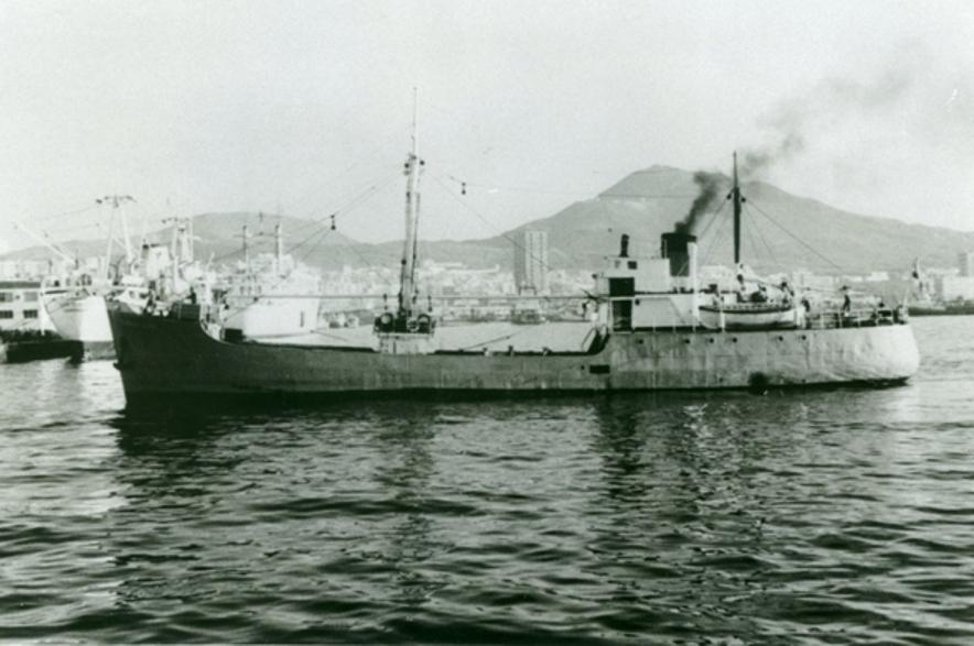 """El buque """"Condesito"""", recién llegado a Las Palmas de Gran Canaria"""