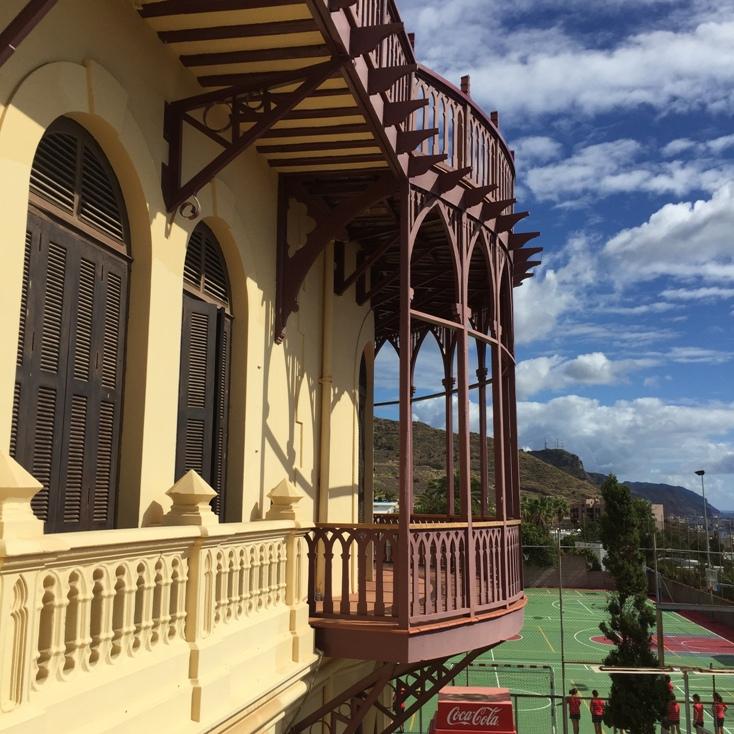 El edificio del Quisisana conserva sus elementos originales