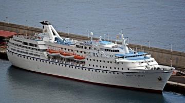 """El buque """"Ocean Majesty"""", en su aspecto actual"""