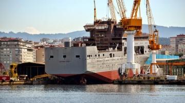 """El buque flotel """"Reforma Pemex"""", construido en Astilleros Barreras"""