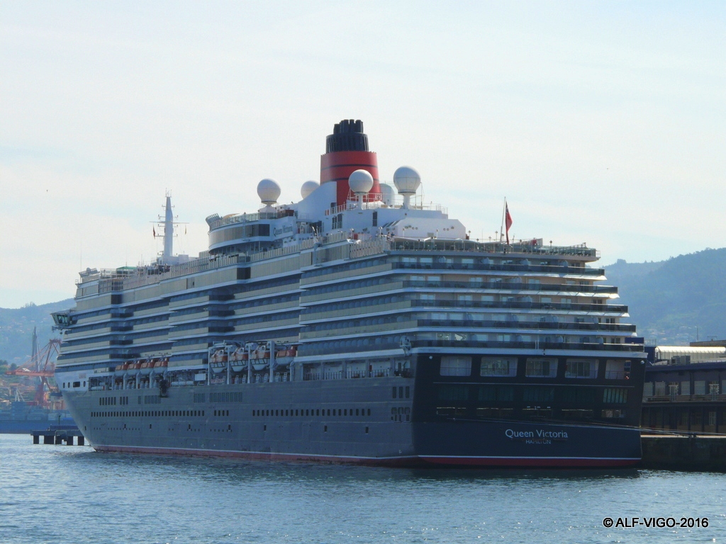 """Es un buque de la clase """"Vista"""" y construido en Italia"""