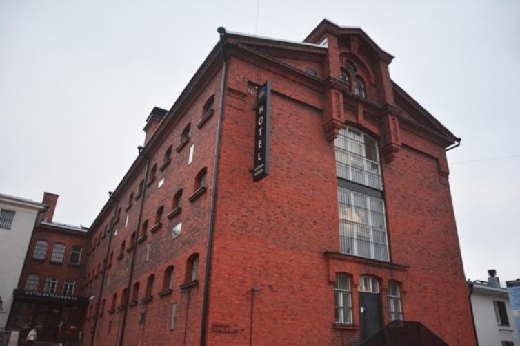 Esta parte del edificio es el más llamativo y data de 1888
