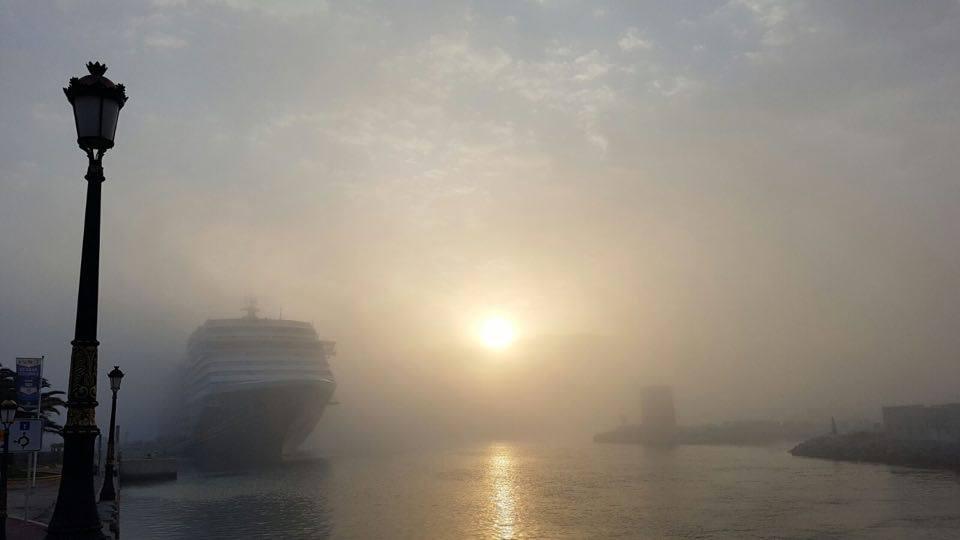 Las nieblas veraniegas son muy típicas de la meteorología en verano