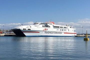 """El catamarán """"Alcántara Dos"""" cubre la línea Alcudia-Ciudadela"""