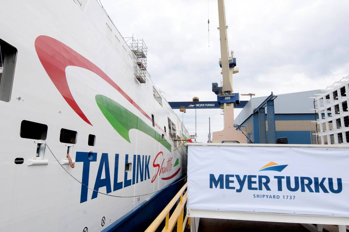El nuevo buque tendrá bandera de Estonia y operará en la línea Helsinki-Tallin