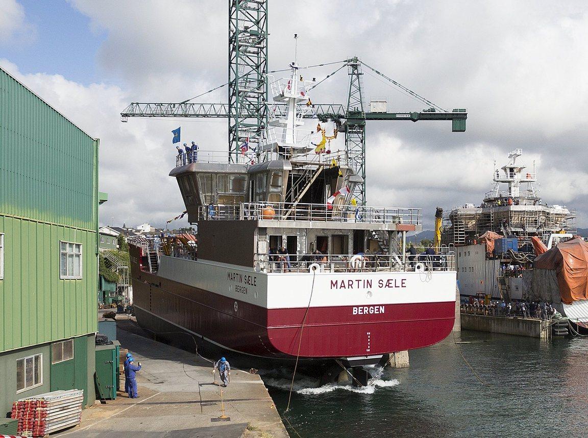 El buque operará en aguas de las islas Stheland