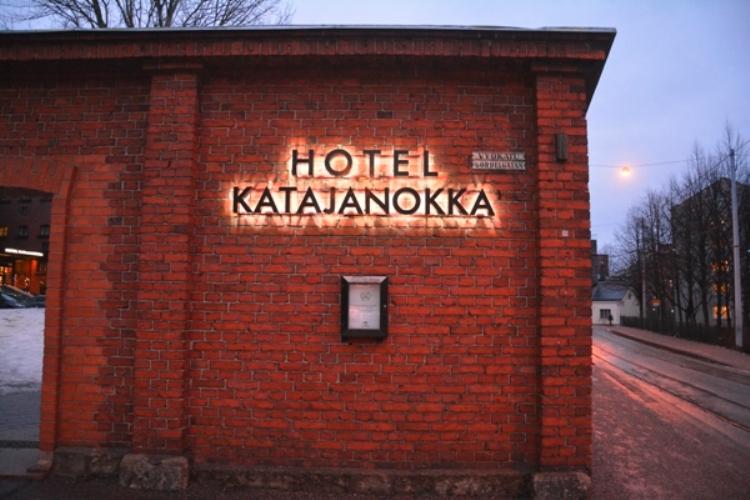 Katajanokka es el nombre del distrito en el que se encuentra en hotel