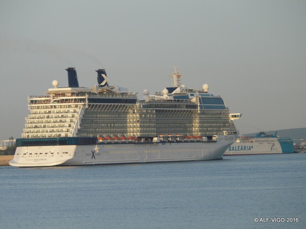El buque es propiedad de Celebrity Cruises