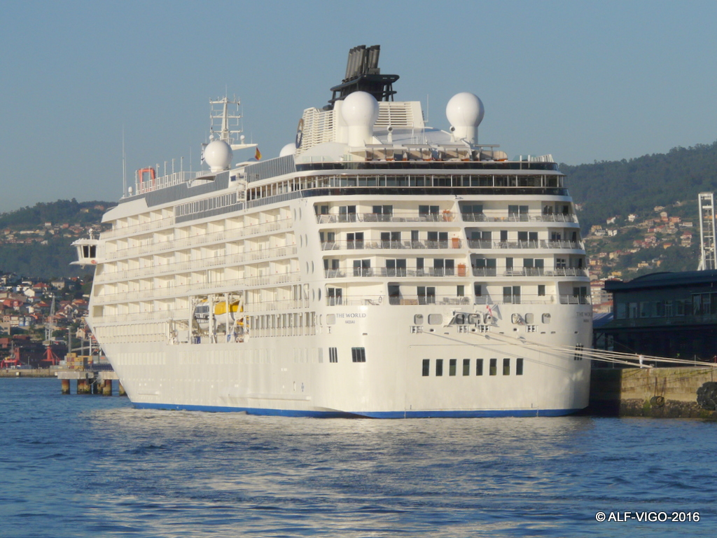 Ha hecho escala en el puerto de Vigo durante dos días