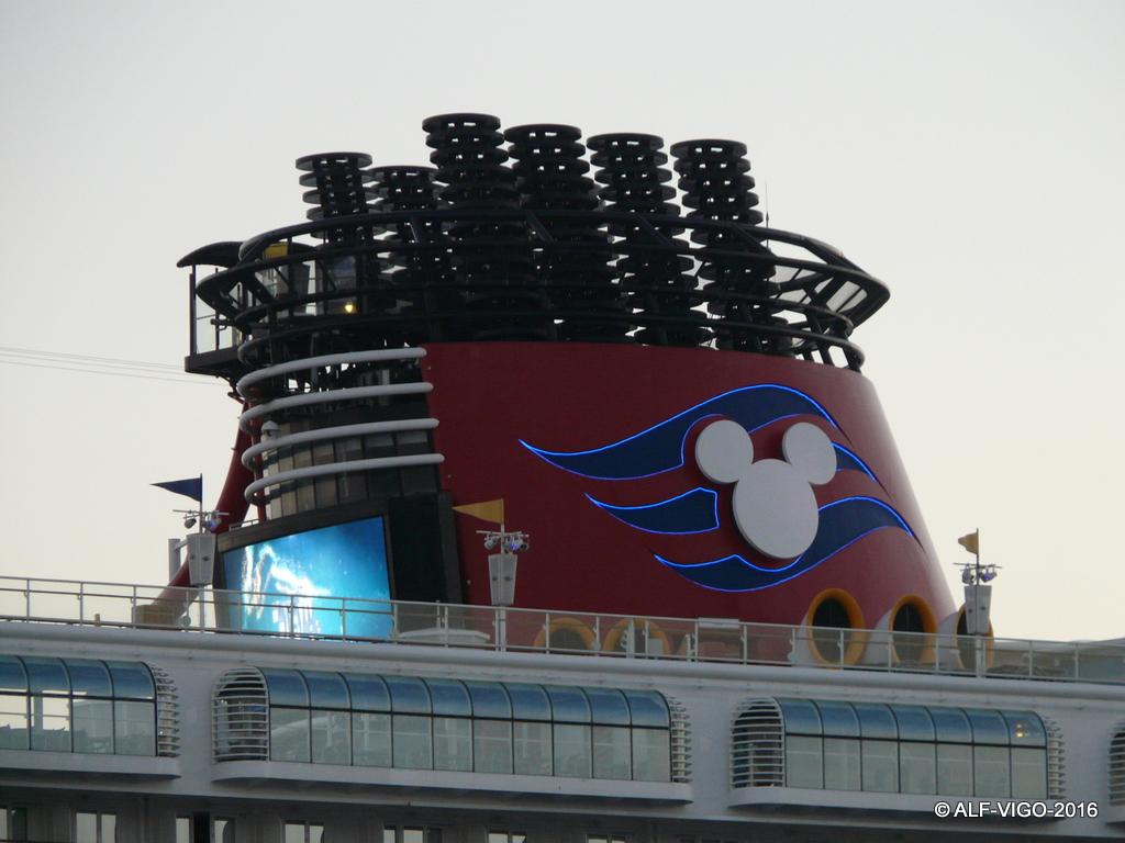 El mundo mágico de Disney navega en este barco