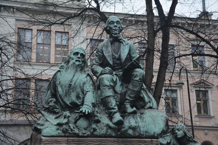 Väinämönen es el símbolo de los versos épicos y mágicos del Kalevala