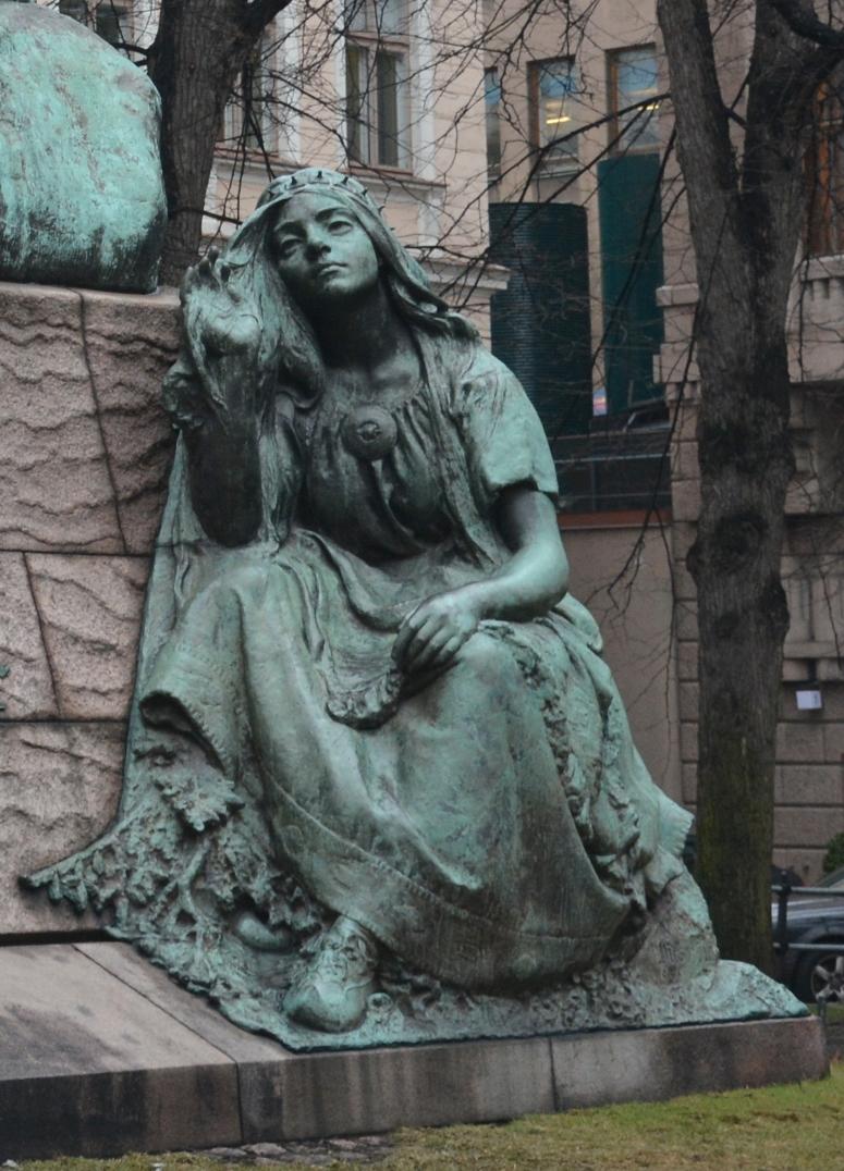 Impi simboliza los poemas líricos y canciones del Kalevala y Kanteletar