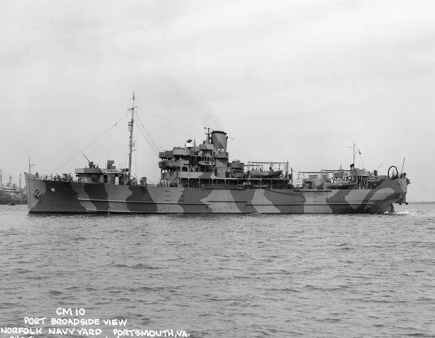 El buque resultó muy útil en los diferentes escenarios bélicos