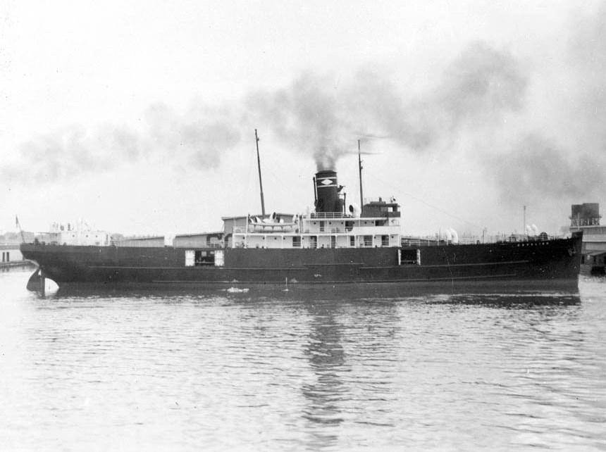 """El buque """"Cavalier"""", en sus primeros años de mar"""