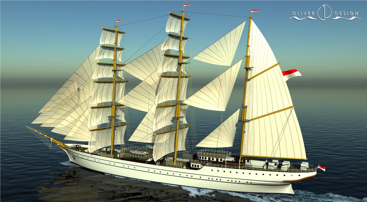 """El buque-escuela indonesio """"KRI Bima Suci"""" será uno de los mayores del mundo en su clase"""