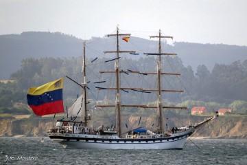 """El buque-escuela venezolano """"Simóm Bolívar"""" llegará el 25 de agosto a Tenerife"""