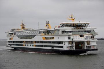 """Esta es la estampa marinera del buque """"Texelstroom"""""""
