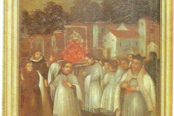 En el Real Santuario de Nuestra Señora de las Nieves existen dos cuadros, en los que su autor quiso parangonar los hechos milagrosos de la nieve atribuidos a la intercesión de la Virgen: el del Monte Esquilino, en Roma y el del volcán de 1646, en La Palma.